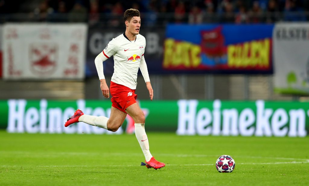 Patrik Schick is a top target for Newcastle United this summer (Patrik Schick in action in the photo)