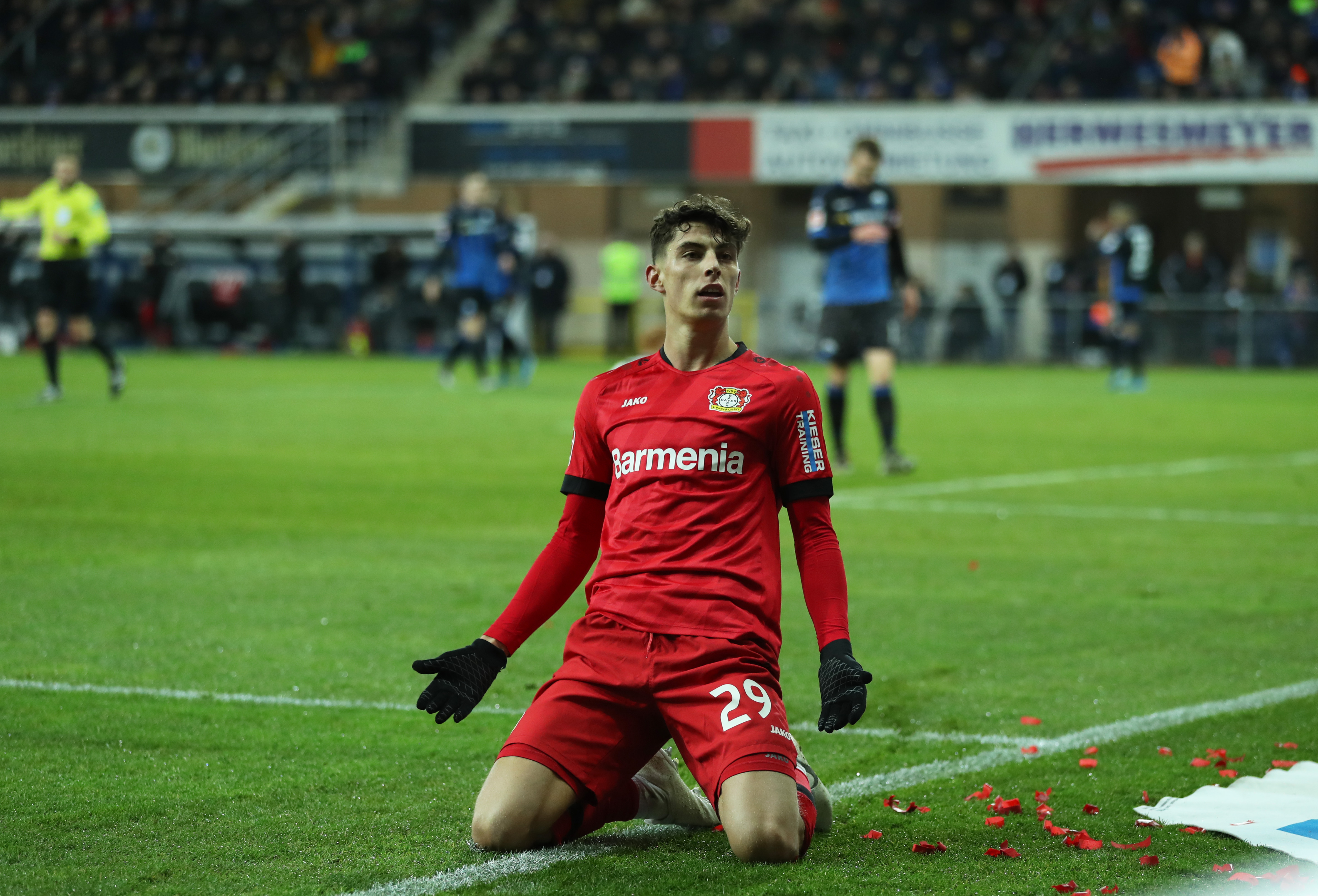 Manchester City Entering The Kai Havertz Race - Havertz celebrates a goal