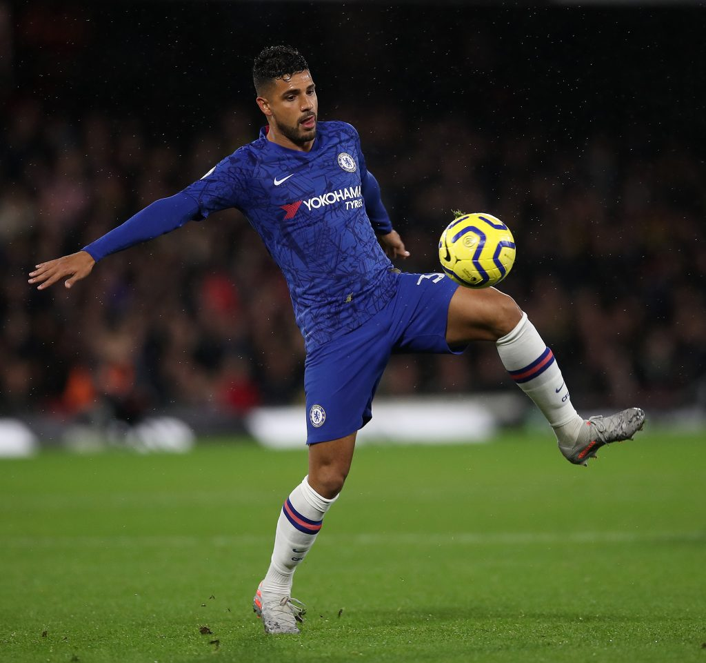 Chelsea Tried To Sell Emerson And Marcos Alonso To Juventus - Emerson in action