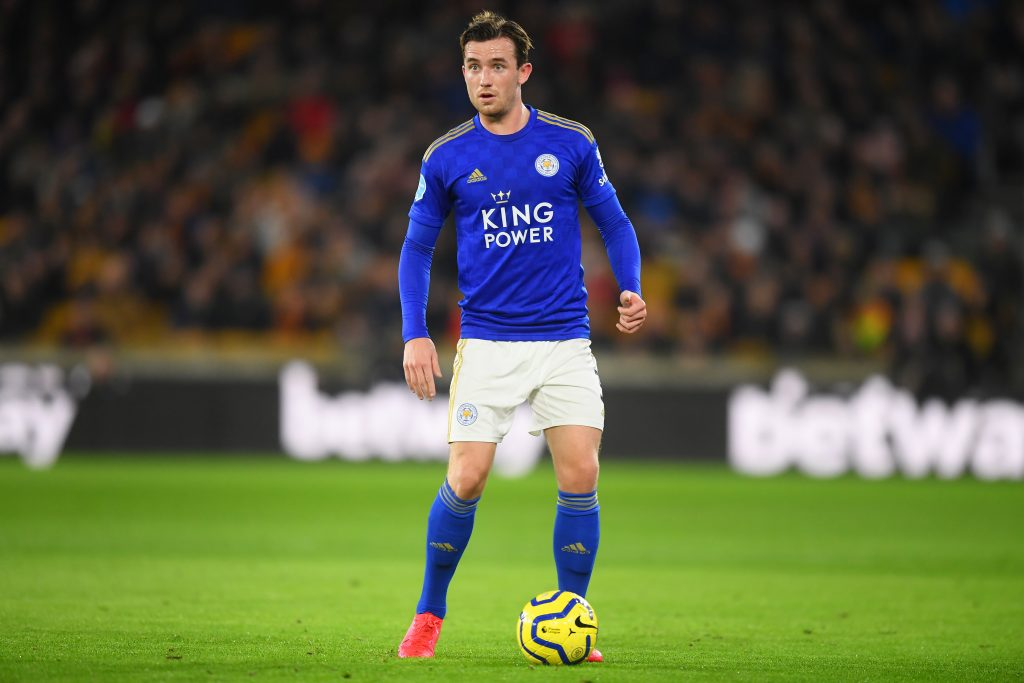 Three Ben Chilwell Alternatives For Chelsea To Consider - Chilwell carries the ball