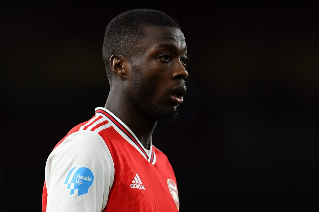 Arsenal prepared to cash in on Nicolas Pepe in January (Pepe is seen in the picture)