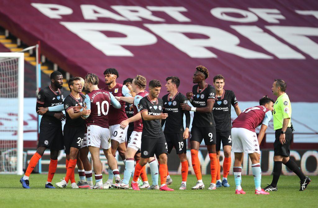 Aston Villa Gegen Chelsea