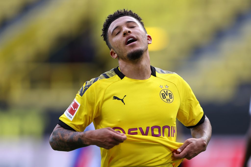 Borussia Dortmund Player Ratings Vs Hertha Berlin - It was a frustrating evening for Jadon Sancho