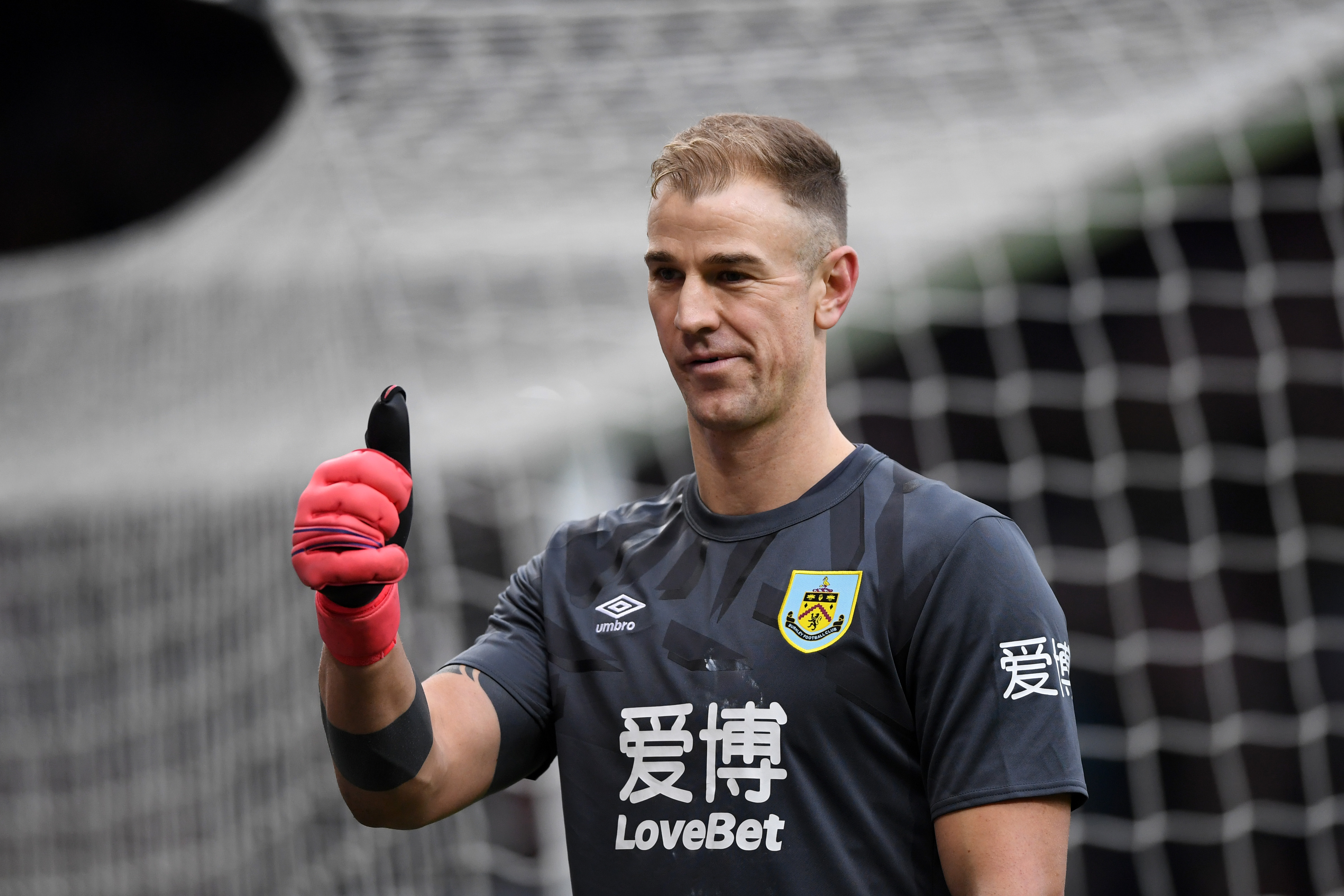 Celtic Have Made Contact For Joe Hart - Hart reacts during a match