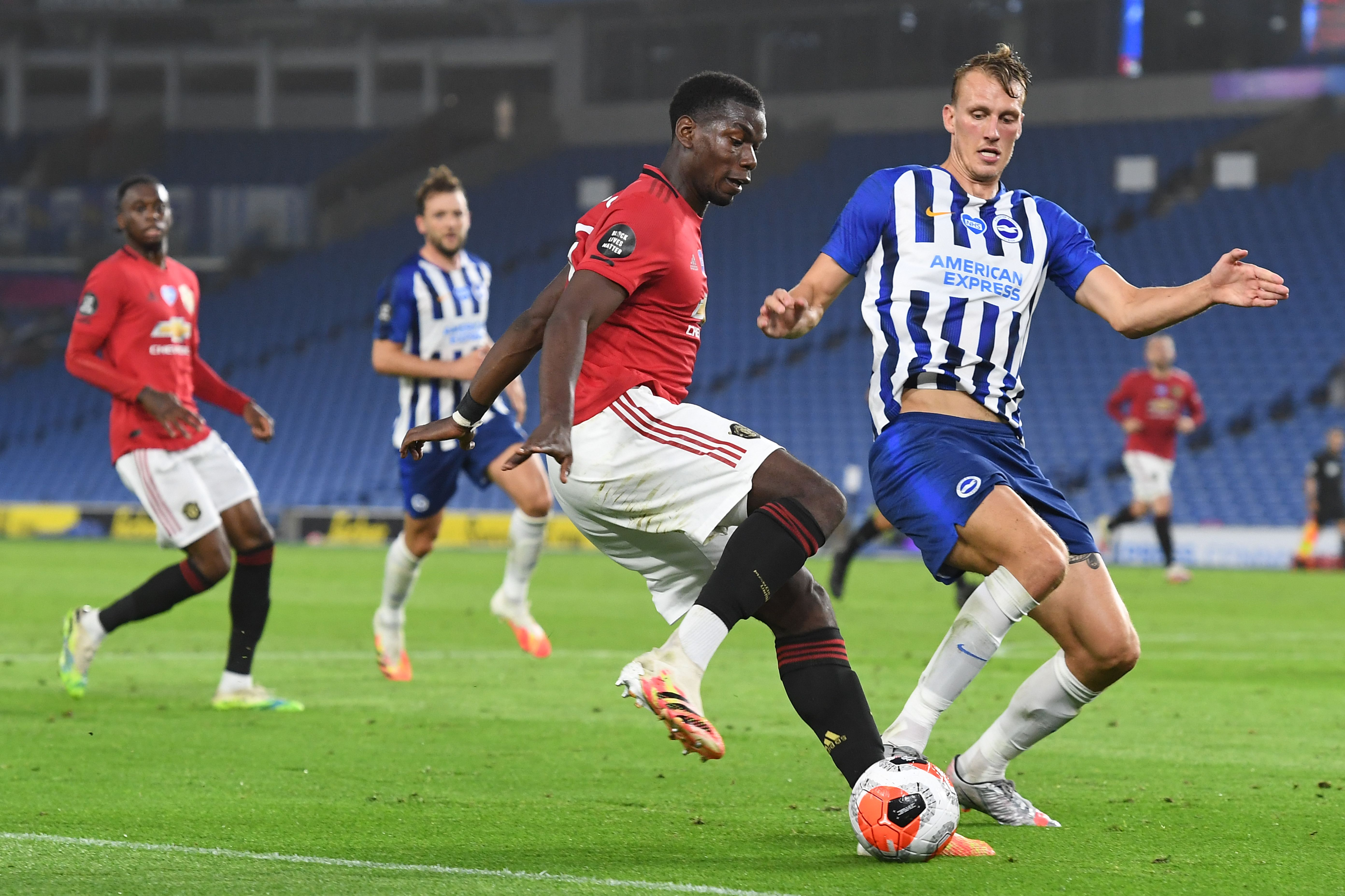4-2-3-1 Manchester United Predicted Lineup Vs Aston Villa (Man United's Paul Pogba in action in the picture)