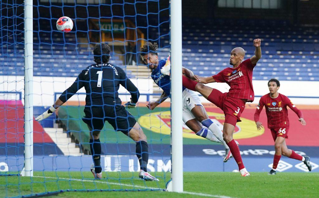 4-3-3 Liverpool Predicted Lineup Vs Brighton (Liverpool's Fabinho in action vs Everton in the picture)