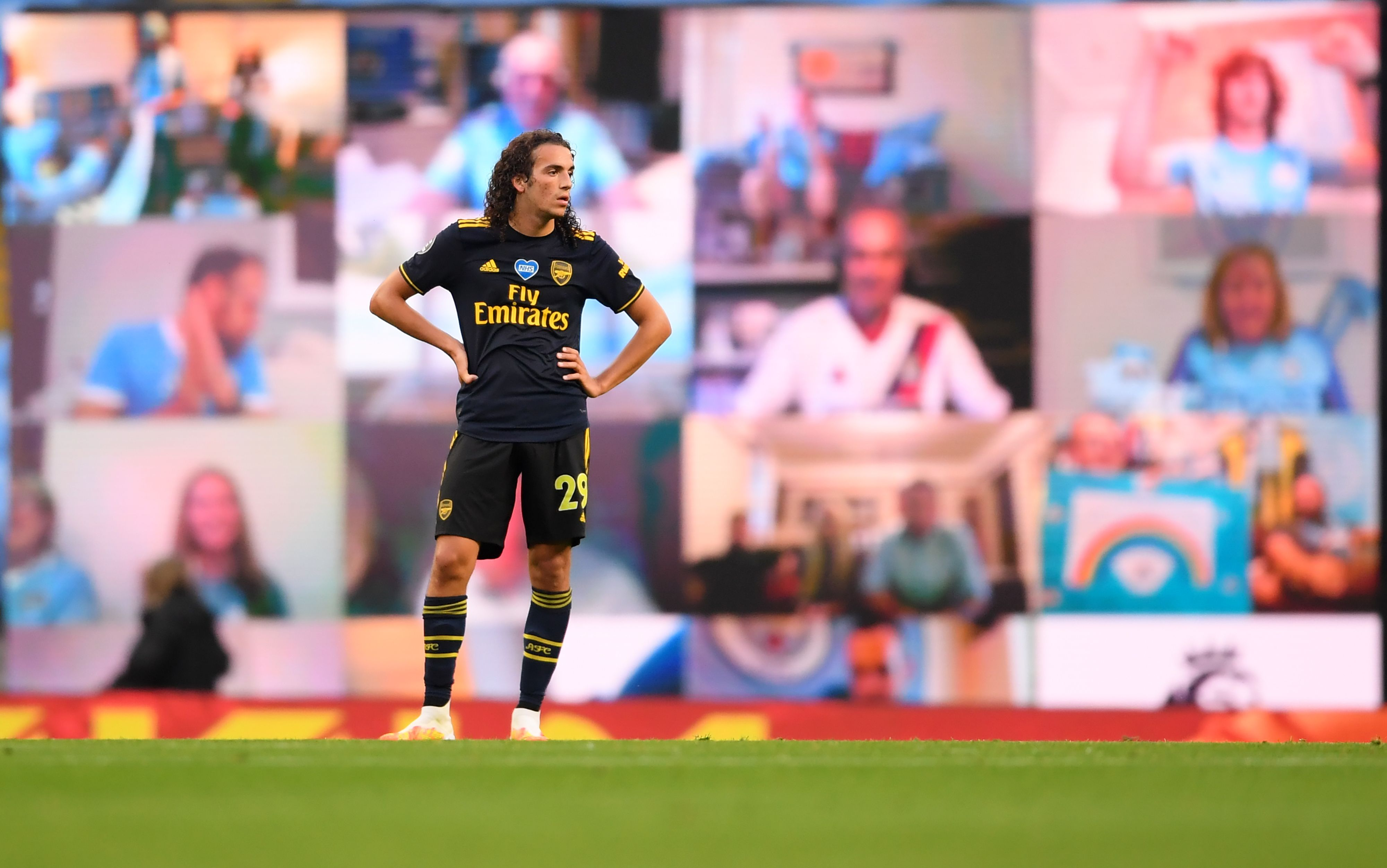 Barcelona set to battle with Paris Saint-Germain for Guendouzi who is seen in the photo