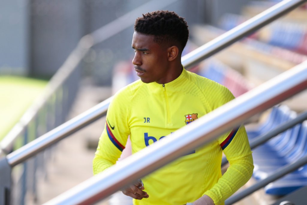 Barcelona's Firpo gathering interest from AC Milan and West Ham (Firpo is seen in the picture)