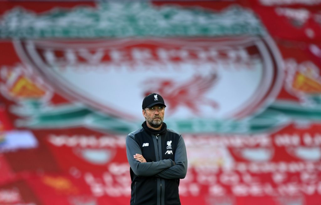 Liverpool closing in on Derby County's Kaide Gordon (Liverpool manager Jurgen Klopp is seen in the photo)