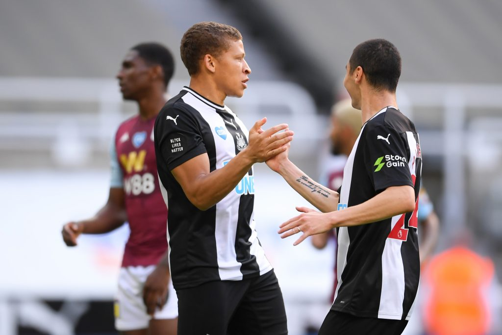 4-2-3-1 Newcastle United Predicted Lineup Vs Watford (Newcastle's Dwight Gayle seen in the picture)
