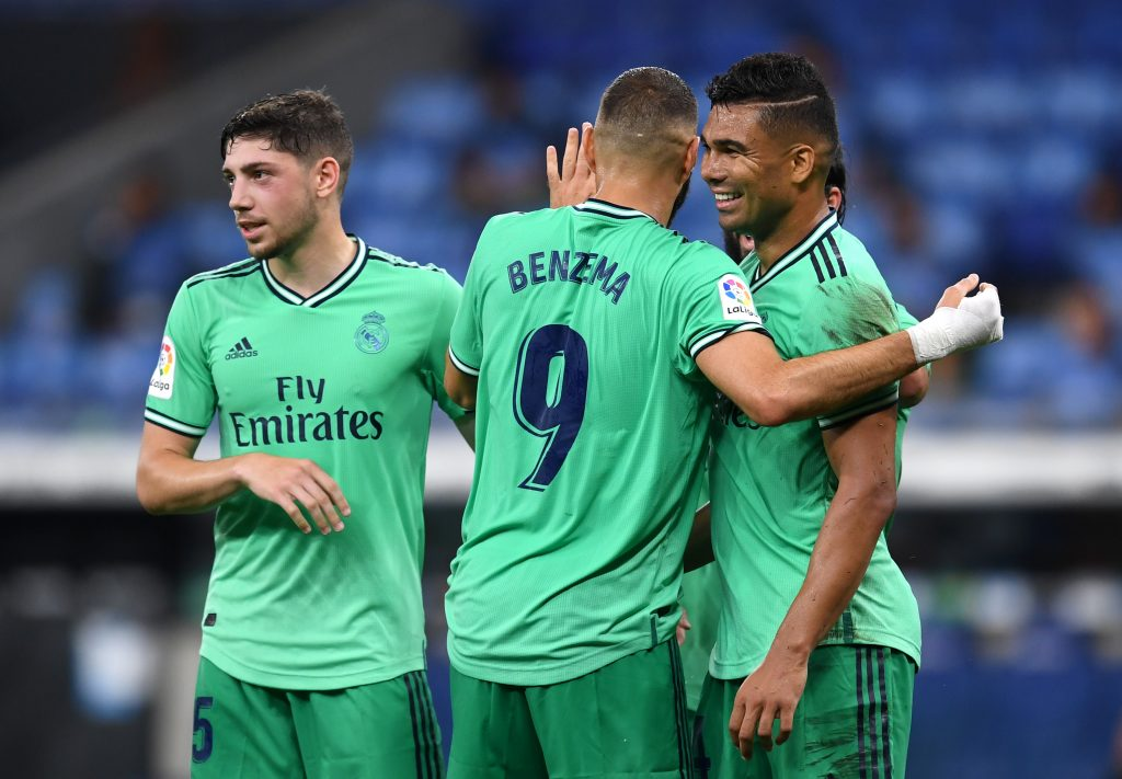 Casemiro and Benzema