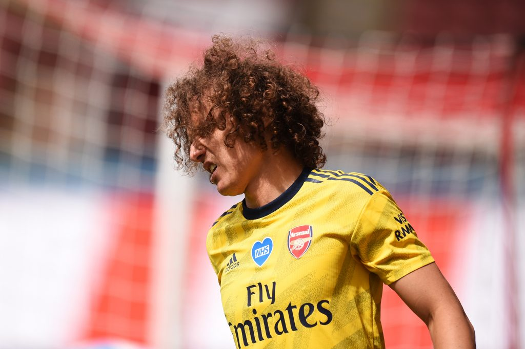 Arsenal Player Ratings Vs Sheffield United - David Luiz had to come off.
