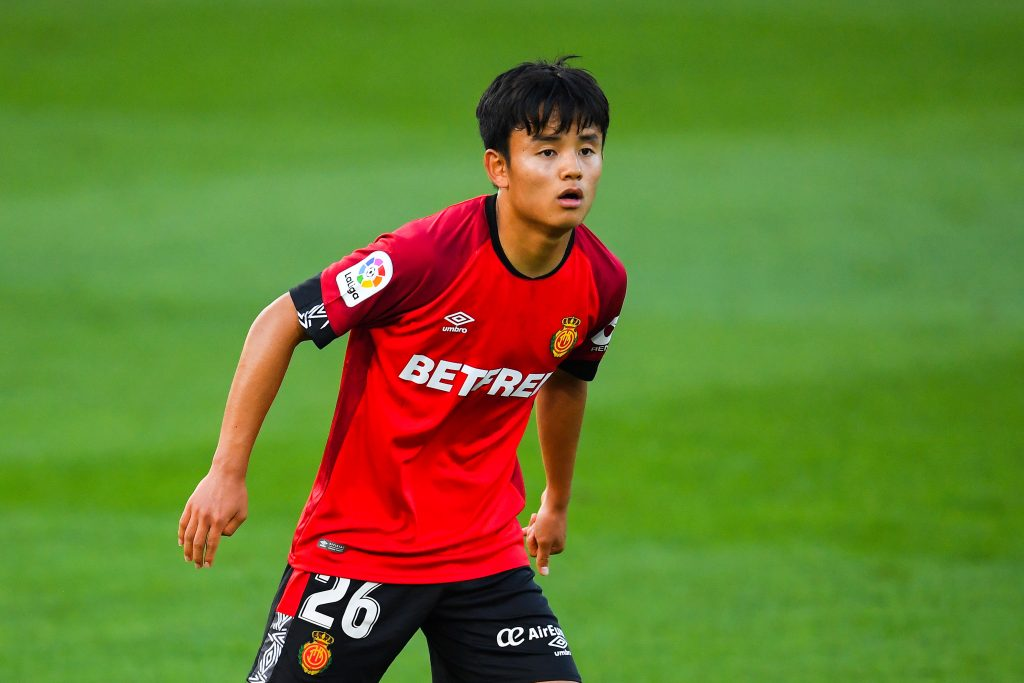 Ajax eyeing a loan move for Real Madrid youngster Kubo who is seen in the picture