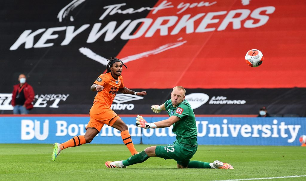 Newcastle United players rated in dominant win vs Bournemouth (Newcastle's Valentino Lazaro in action in the picture)