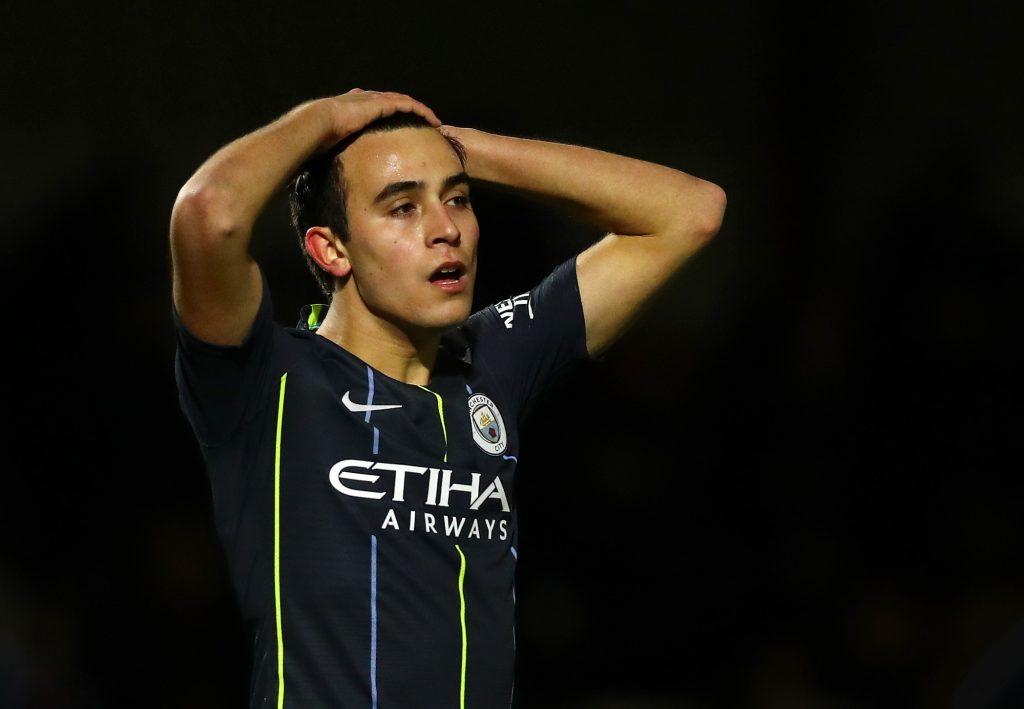 Guardiola provides update on the future of Manchester City's Garcia who is seen in the picture