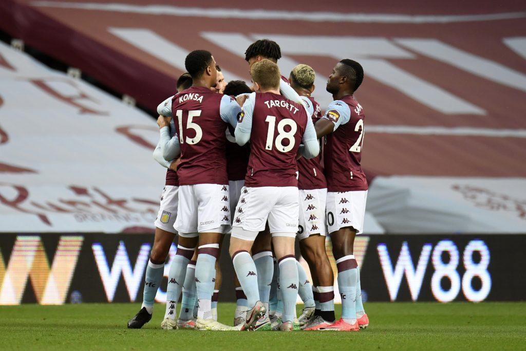 4-2-3-1 Aston Villa Predicted Lineup Vs Burton Albion (Aston Villa players are celebrating in the photo)