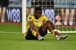 Arsenal Player Ratings Against Aston Villa - Nketiah was unlucky to not score a goal.