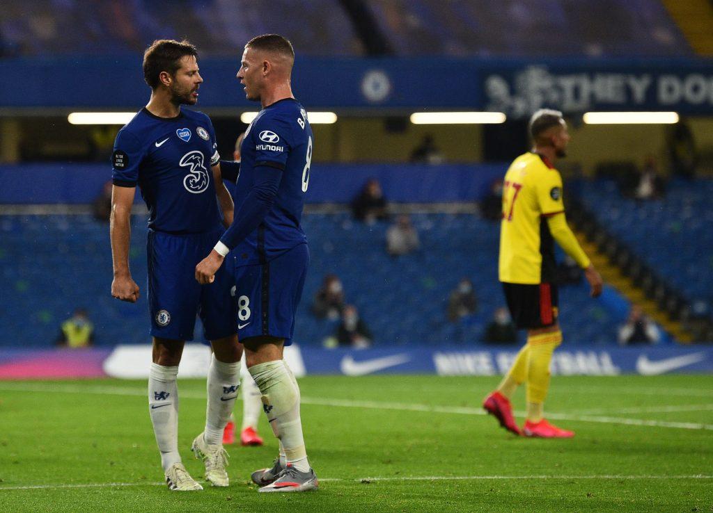 Chelsea Player Ratings Vs Watford - Barkley celebrates his goal