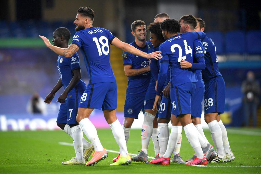 Chelsea Player Ratings Vs Watford - Chelsea celebrate a goal