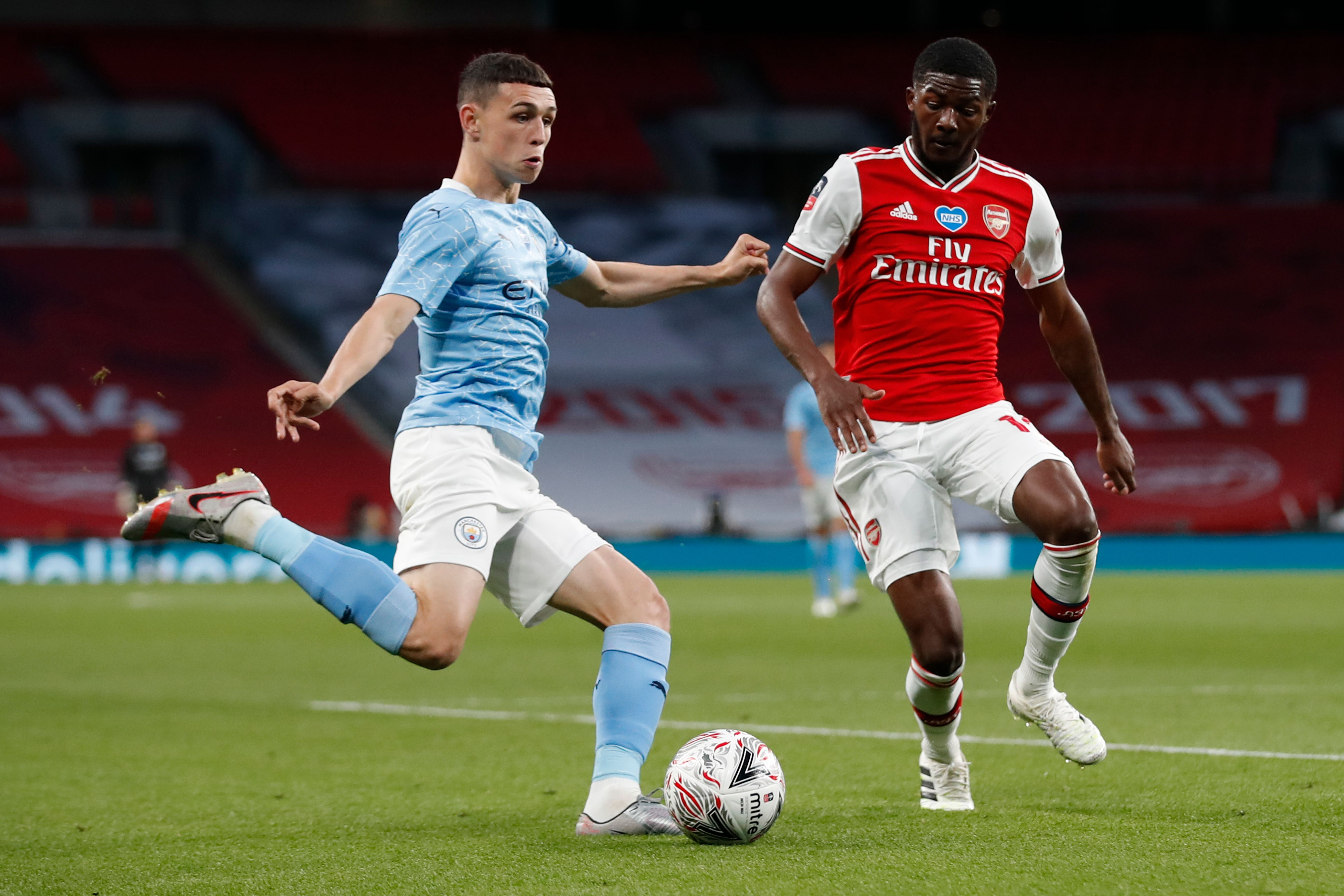 4-3-3 Manchester City Predicted Lineup Vs Bournemouth (Man City's Phil Foden is in action in the photo)