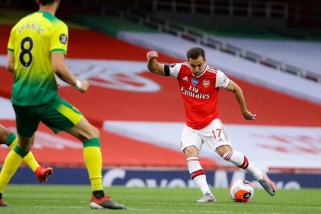 Arsenal Player Ratings Vs Norwich City - Cedric takes a shot