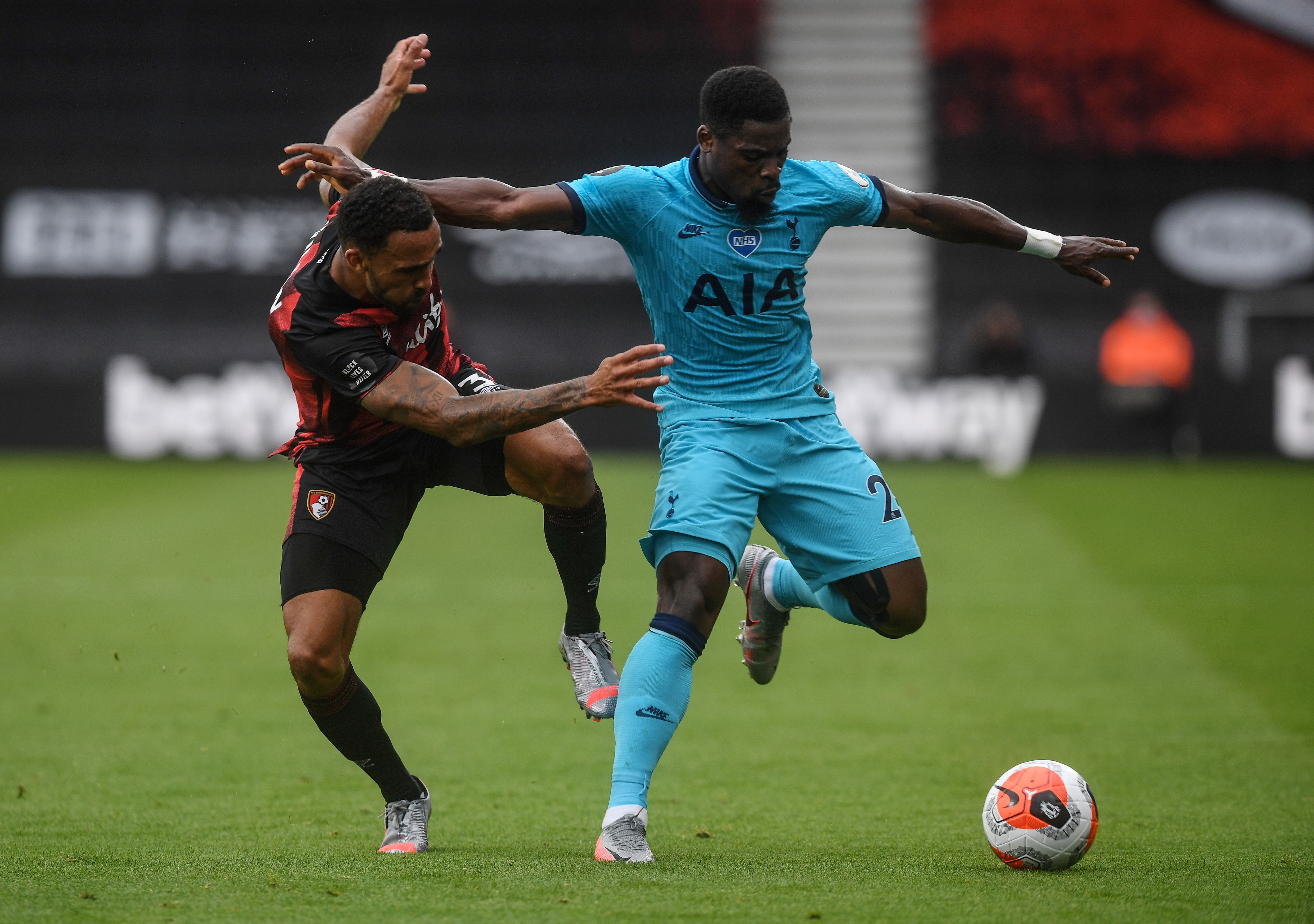 Wolves keeping a keen eye on Tottenham Hotspur's Serge Aurier who is in action in the picture