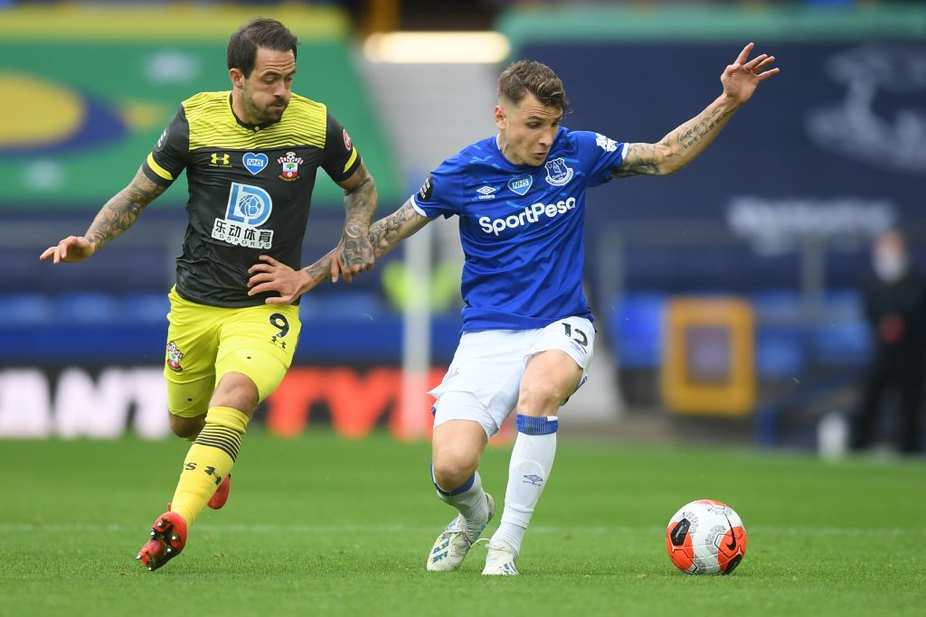 Manchester City identify Lucas Digne as a summer target (Lucas Digne is seen in the photo)