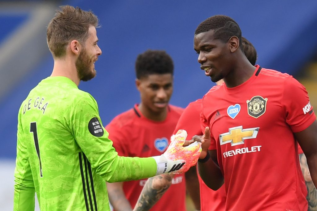 Manchester United Player Ratings Vs Leicester City - Pogba and De Gea