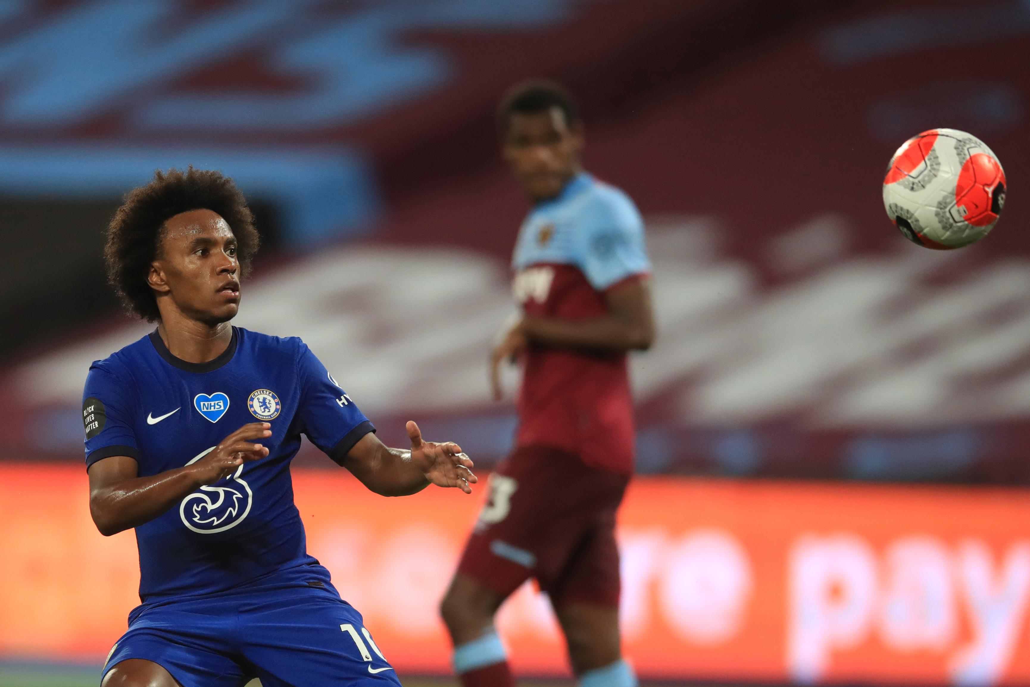 Chelsea Player Ratings Vs West Ham United - Willian celebrates his goal