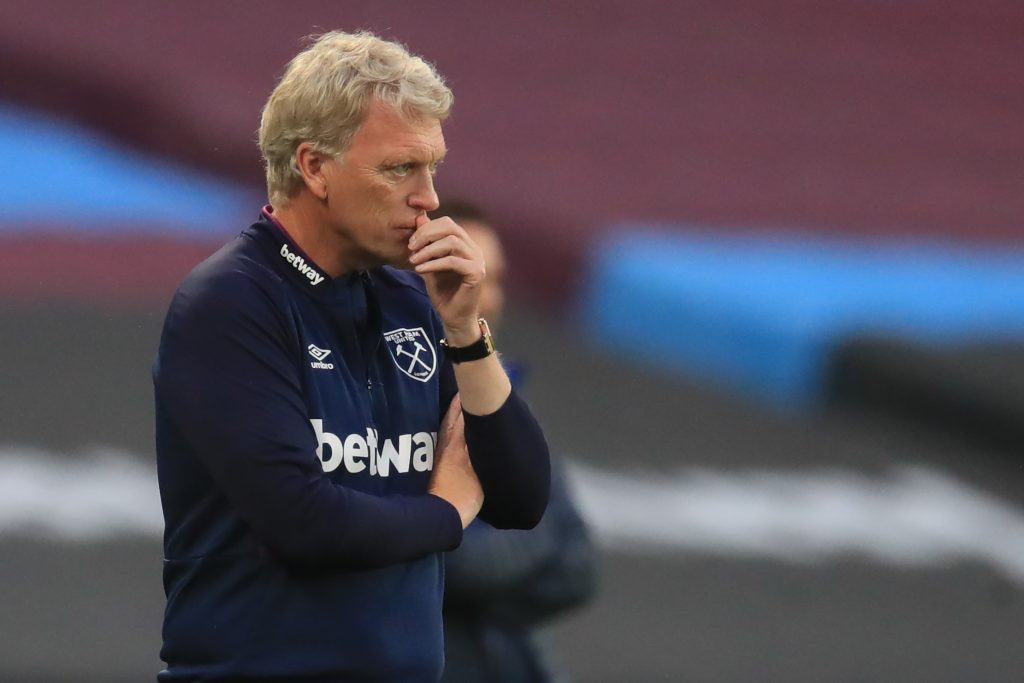 West Ham United could focus on recruiting Adam Armstrong (West Ham boss David Moyes is seen in the picture)
