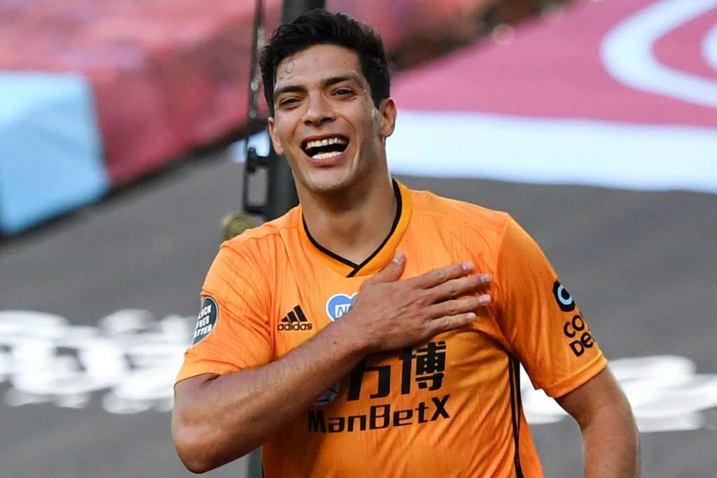 3-4-1-2 Wolves Predicted Lineup Vs Newcastle United (Wolves' Raul Jimenez is seen in the photo)