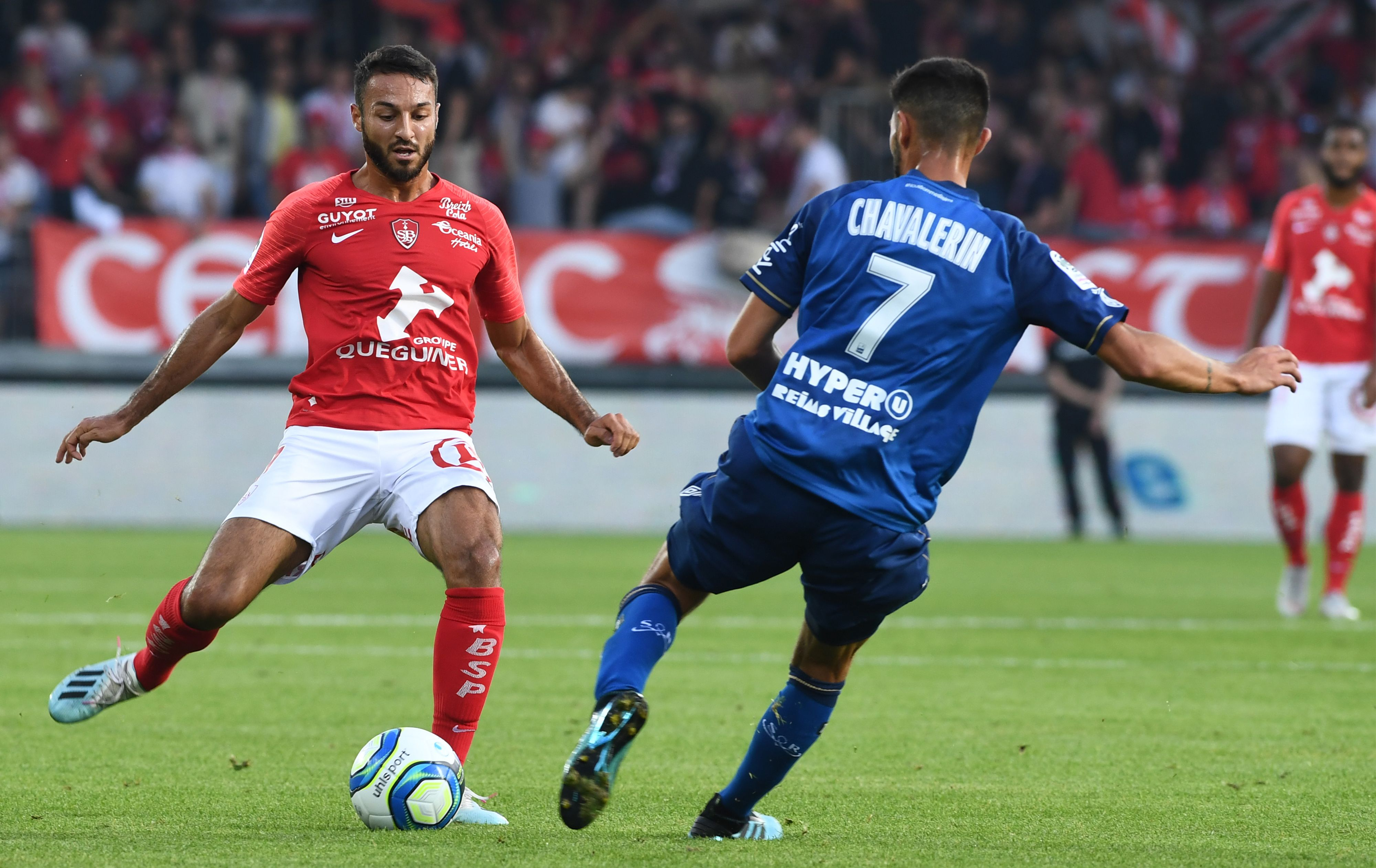 Celtic Are Interested In Haris Belkebla - Belkebla(L) vying for the ball