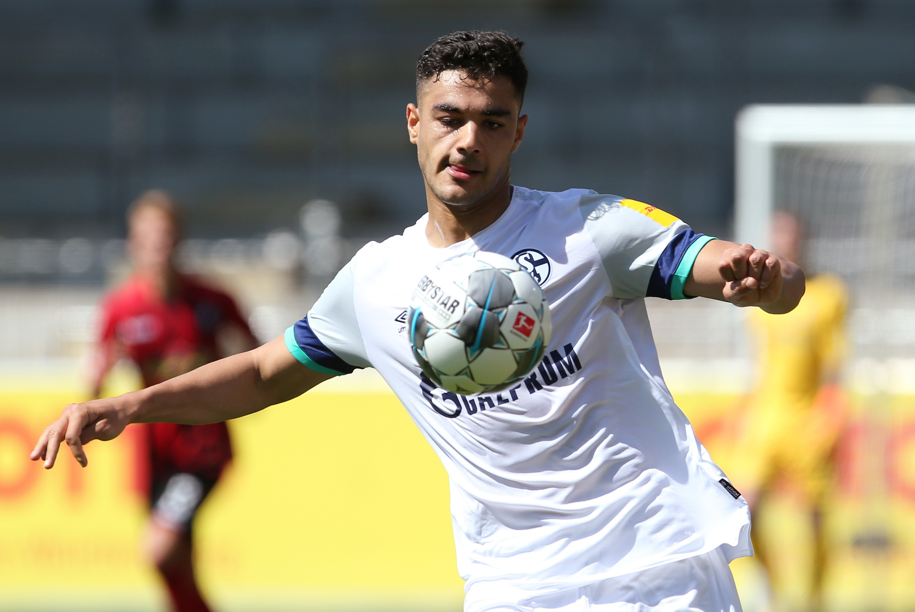 Newcastle United eyeing a fresh move for Ozan Kabak who is seen in the photo