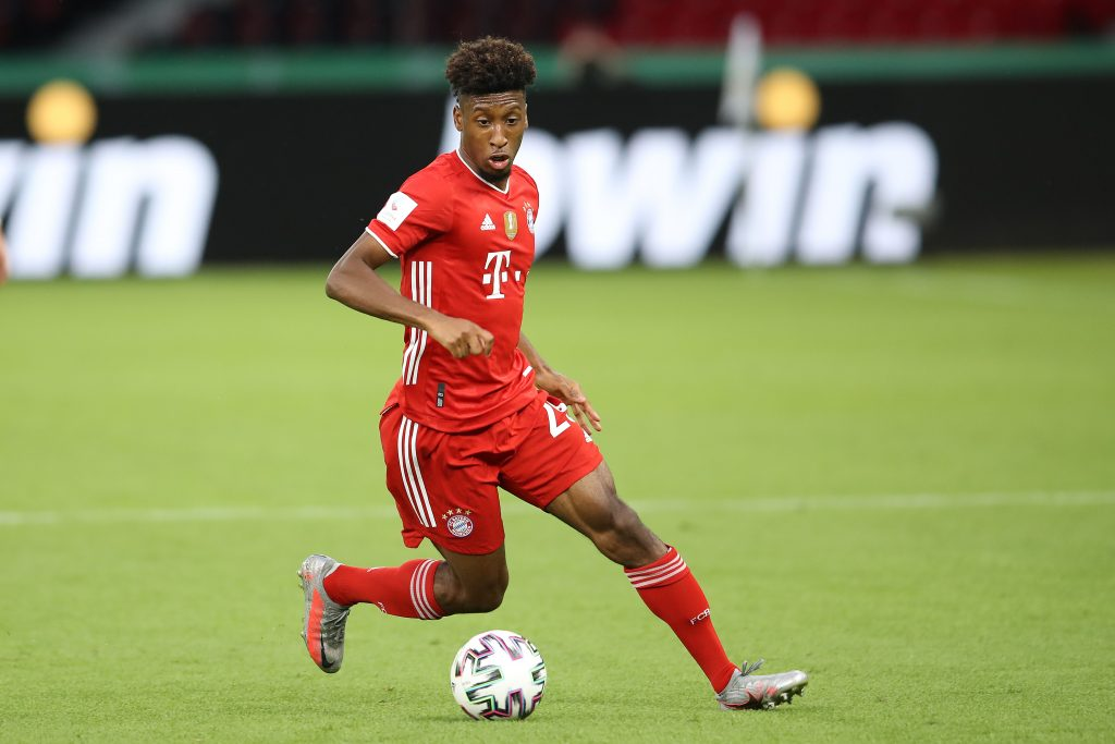 Manchester United are interested in Kingsley Coman - A crown jewel for Bayern.