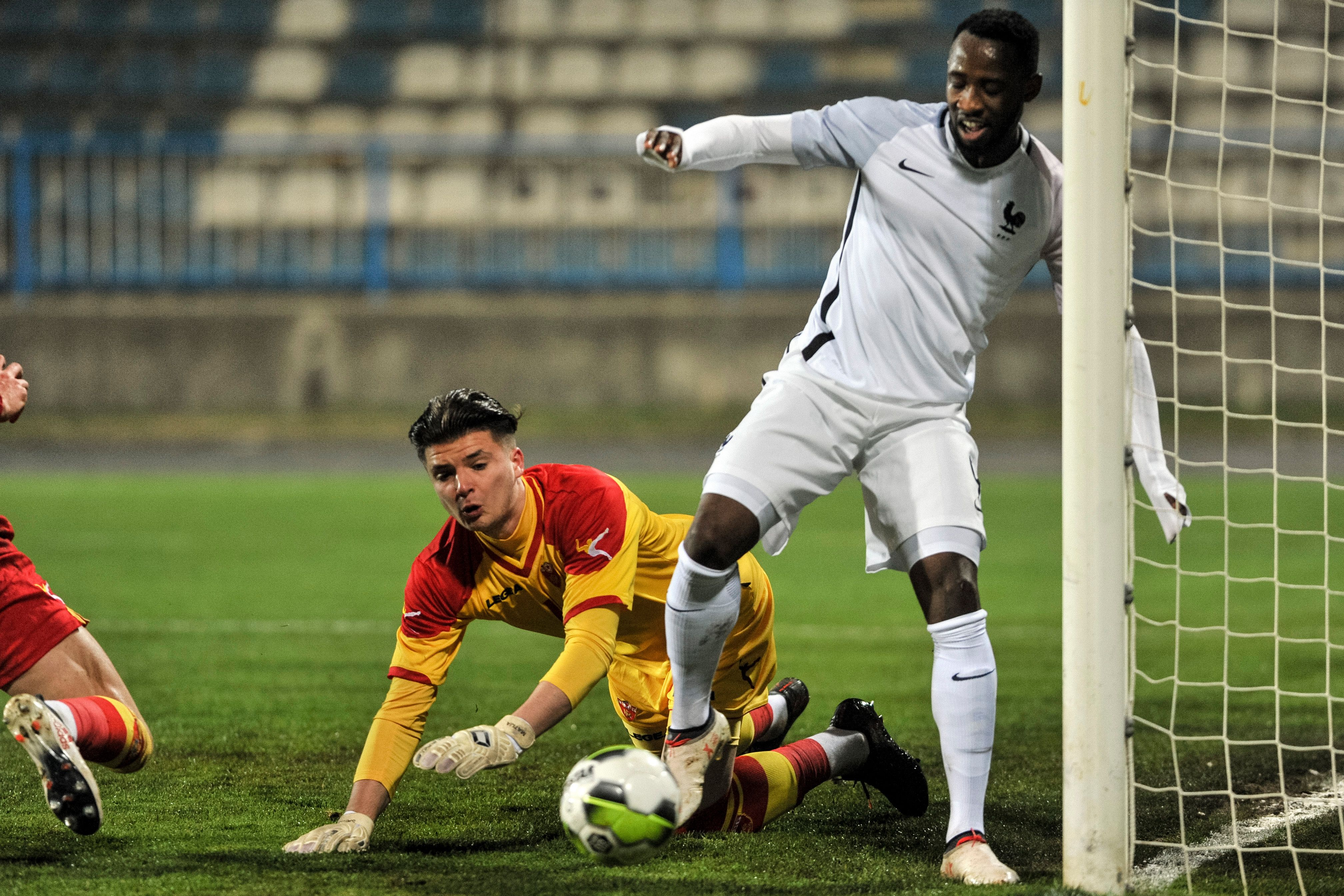West Ham United are keeping tabs on Moussa Dembele who is in action in the picture