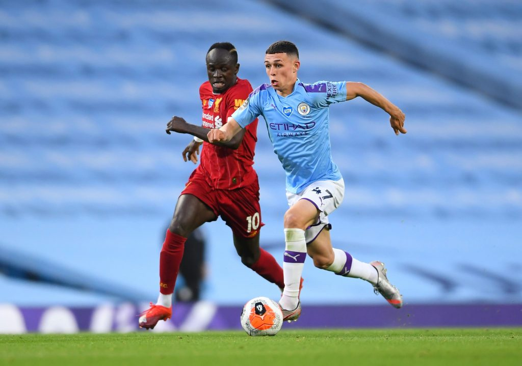 Manchester City player ratings vs Liverpool (Man City's Phil Foden in action in the photo)