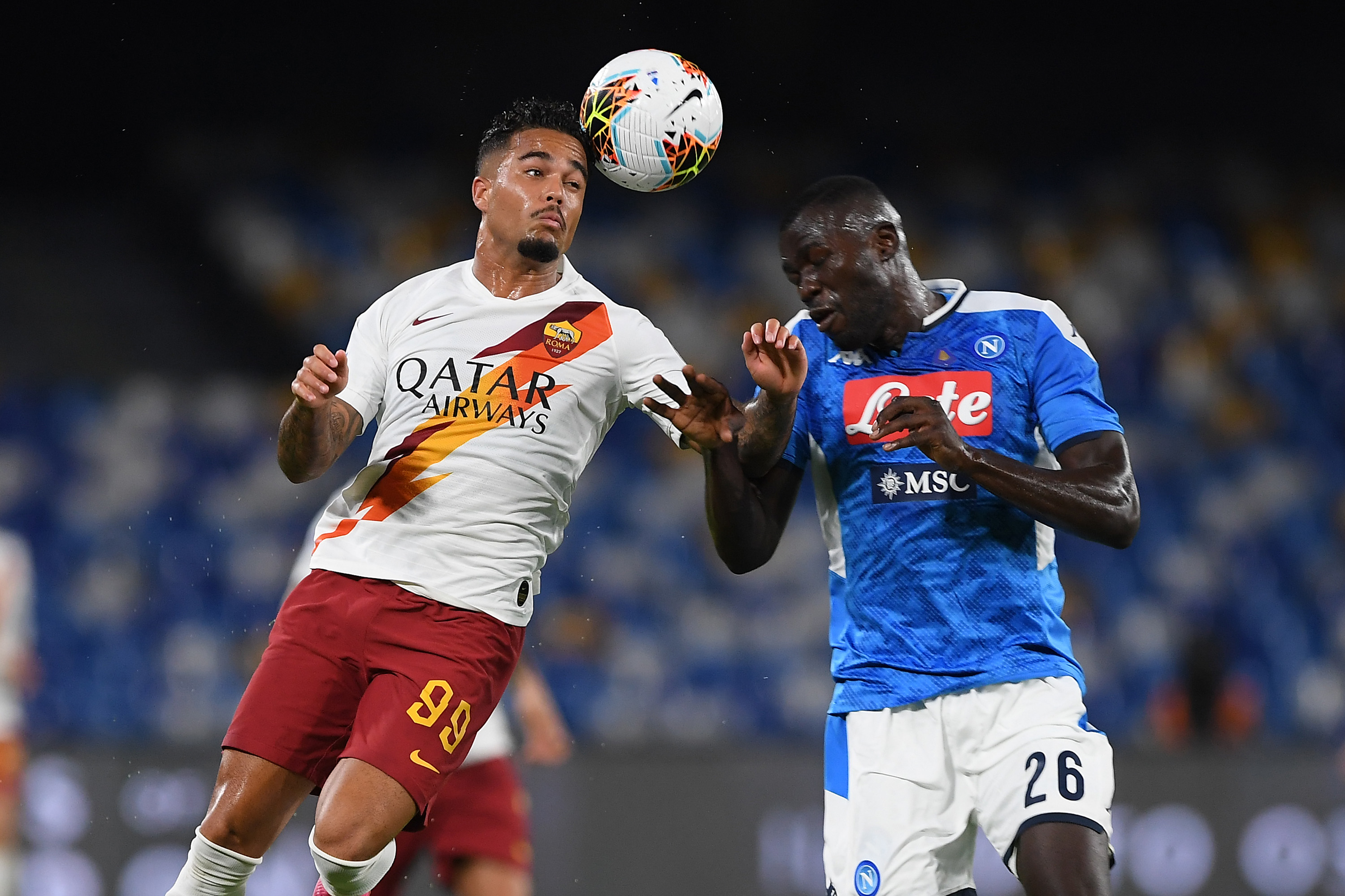 Update on Manchester United's pursuit of Kalidou Koulibaly who is seen in the photo
