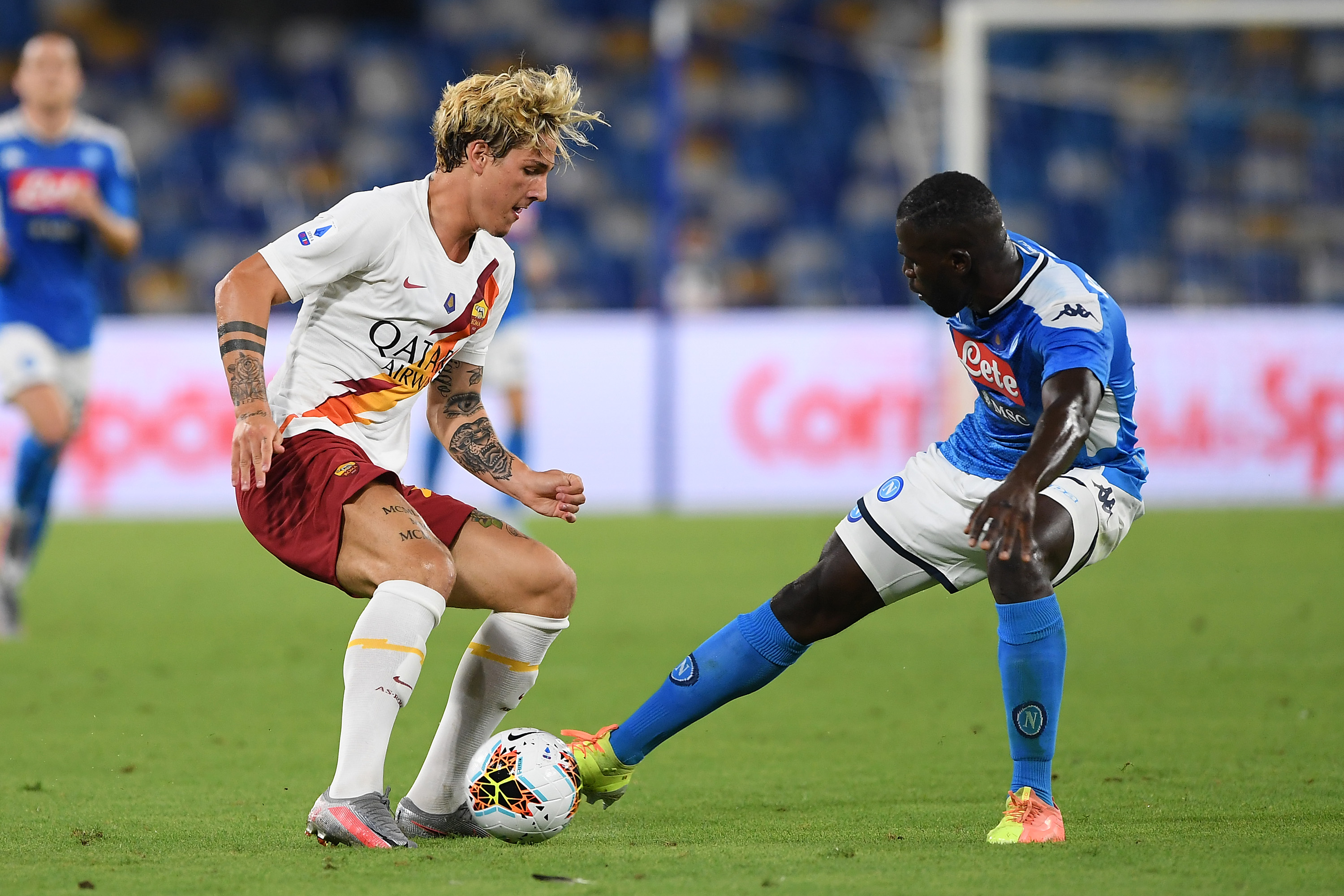 Koulibaly agrees personal terms with Manchester City (Koulibaly is seen in the photo)