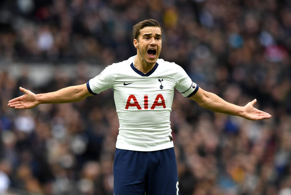 Mills urges Tottenham Hotspur's Winks to leave in January (Winks is reacting in the picture)