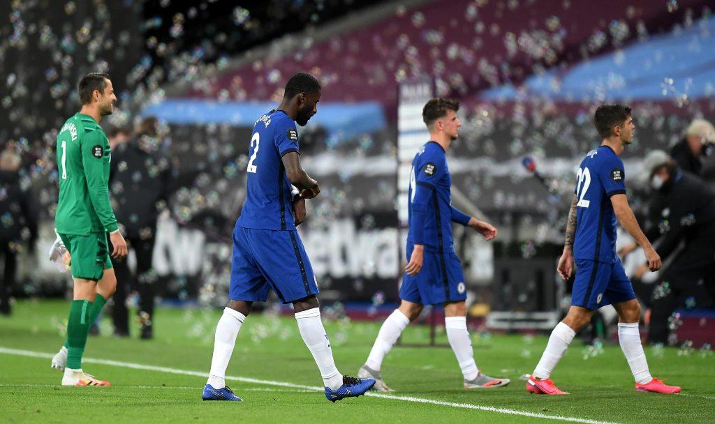 Chelsea Player Ratings Vs West Ham United - Chelsea players walk away