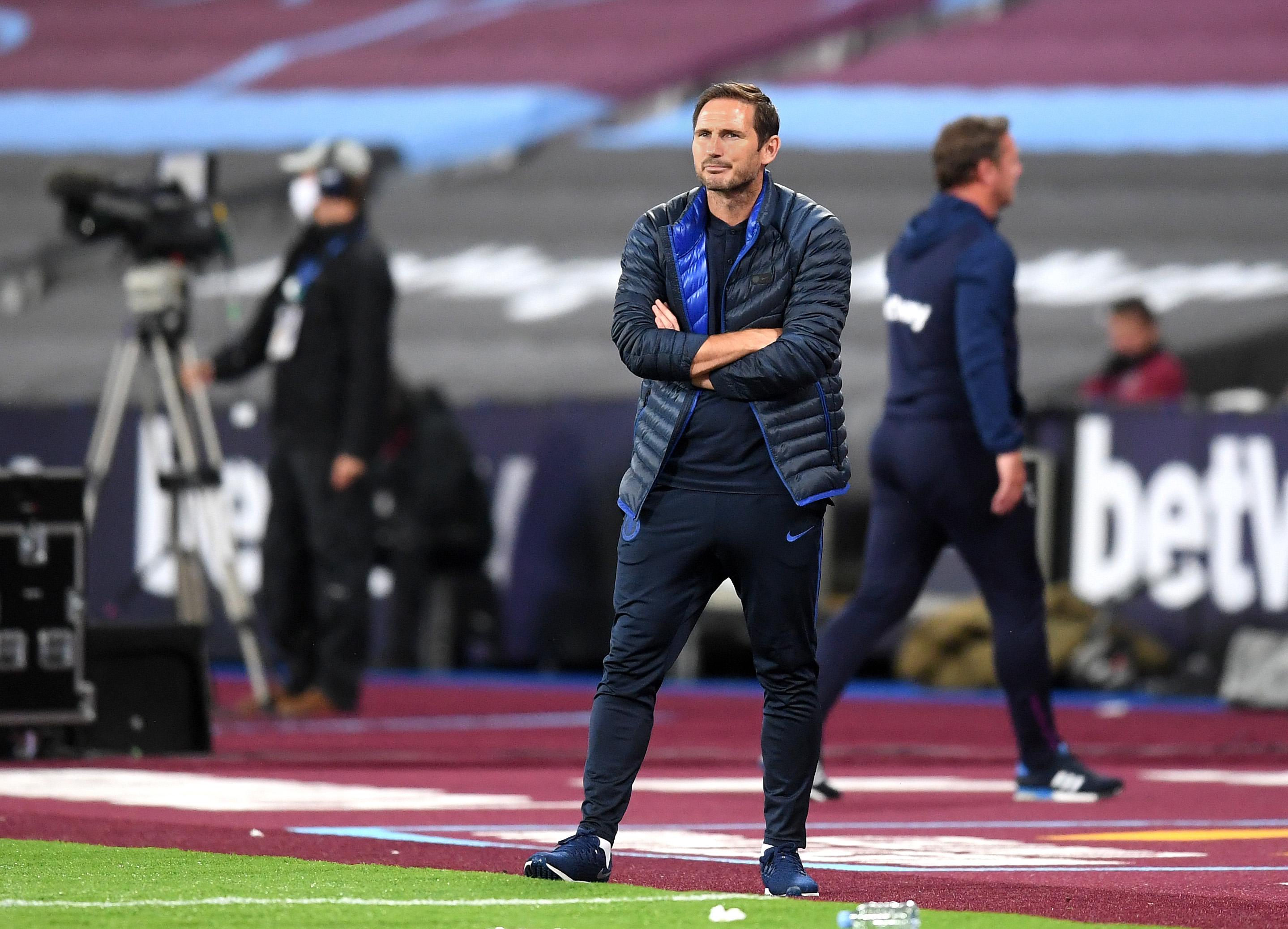 Three Things Lampard Must Ensure To Win Against Watford - Lampard looks on