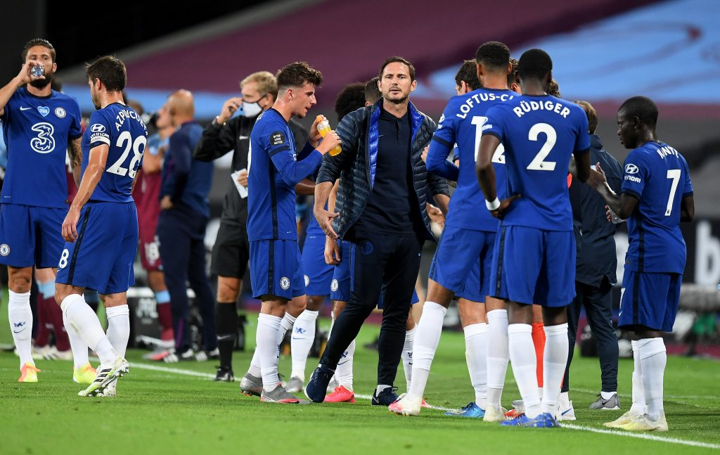 Three Things Lampard Must Ensure To Win Against Watford - Lampard instructs the players