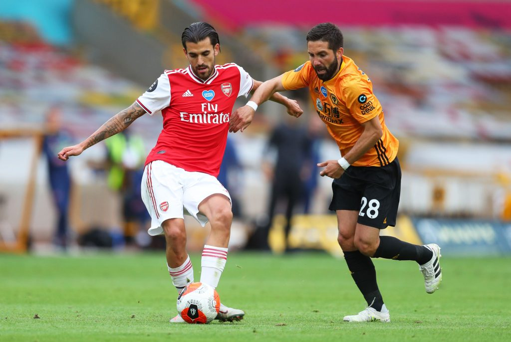 Arsenal Player Ratings Vs Wolverhampton Wanderers - Dani Ceballos was top class.