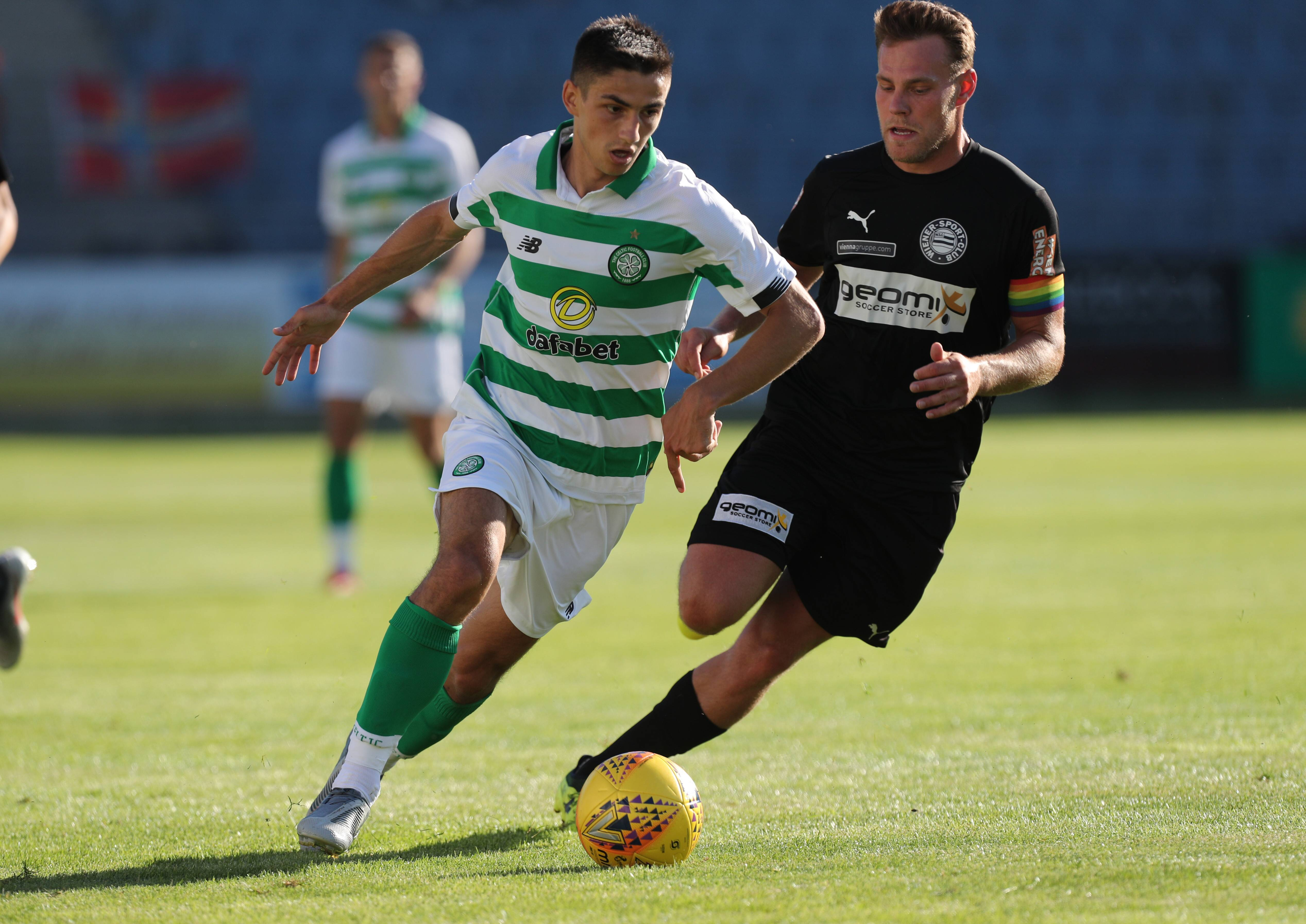 Clubs Across Europe Are Keen On Signing Celtic's Maryan Shved - Shved in action