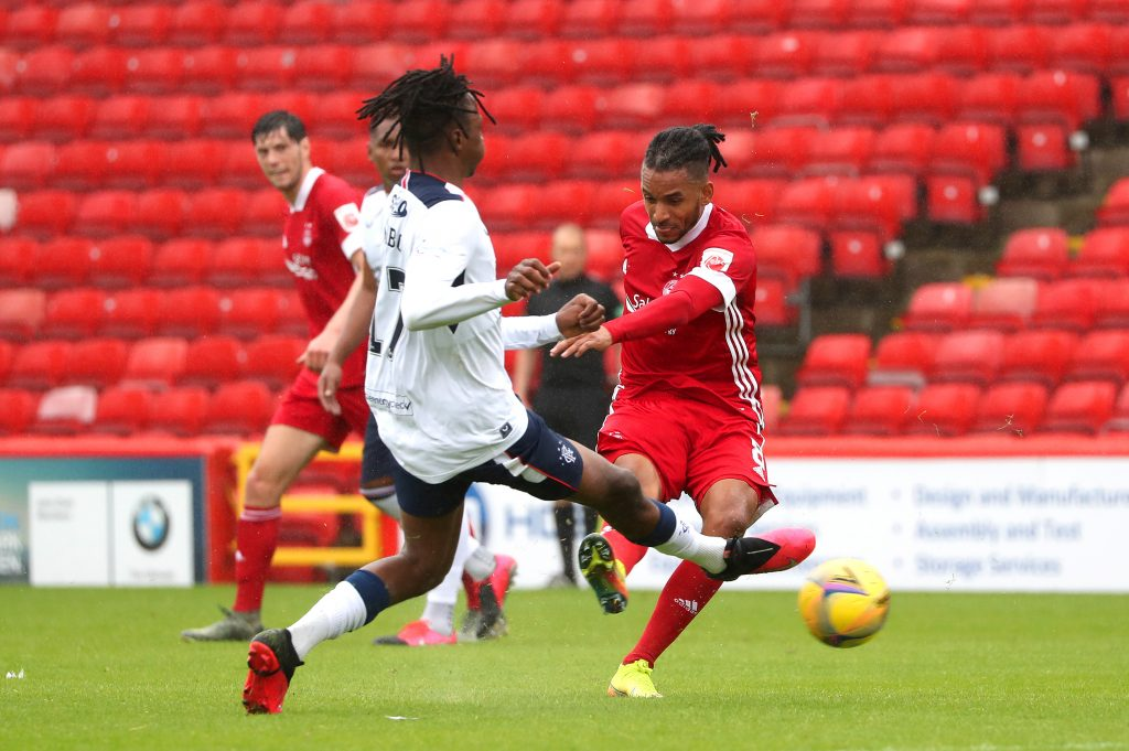 Rangers Player Ratings Vs Aberdeen - Aribo vying for the ball