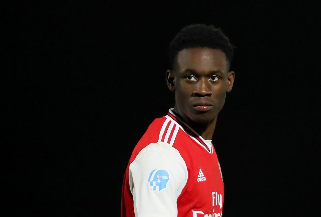 Arsenal have begun talks with Folarin Balogun over a new contract - A star in the making.