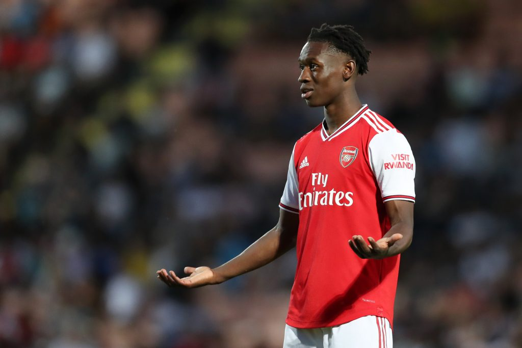Arsenal have slapped an£8 million price-tag for Folarin Balogun - It could be a tough road at Arsenal.