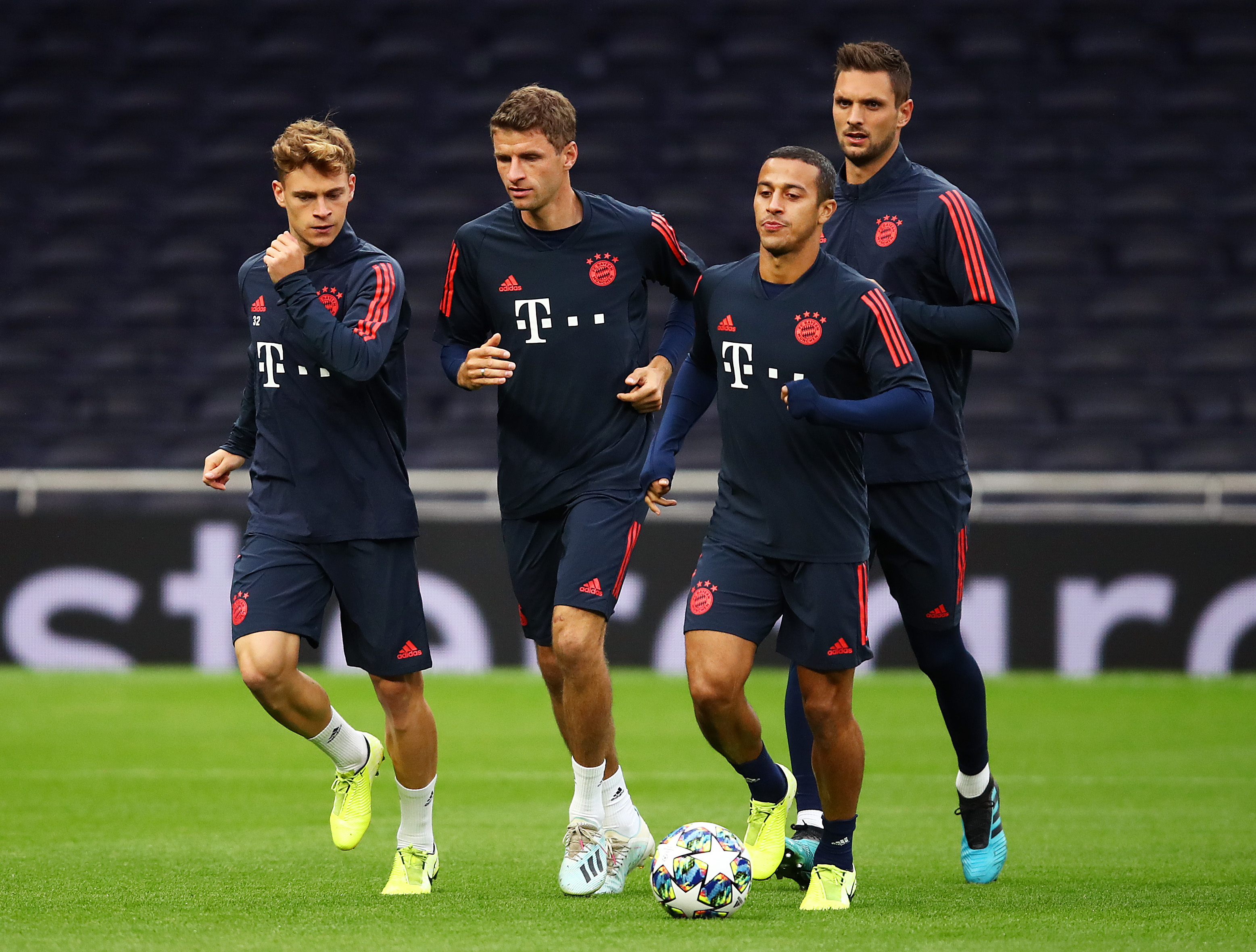 Predicted Bayern Munich Lineup Vs Chelsea - A packed midfield.