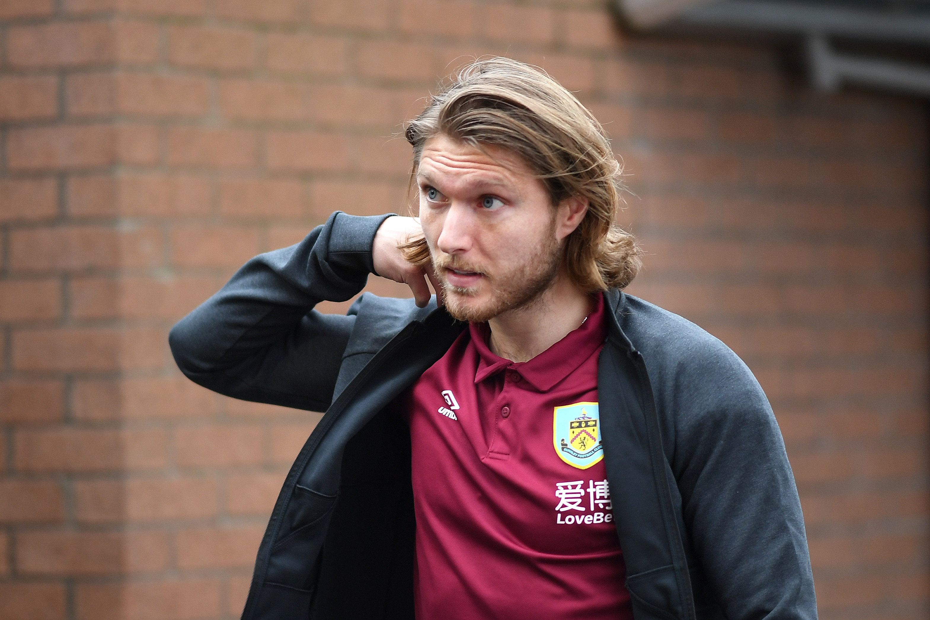 Newcastle United on the verge of signing Jeff Hendrick who is seen in the photo