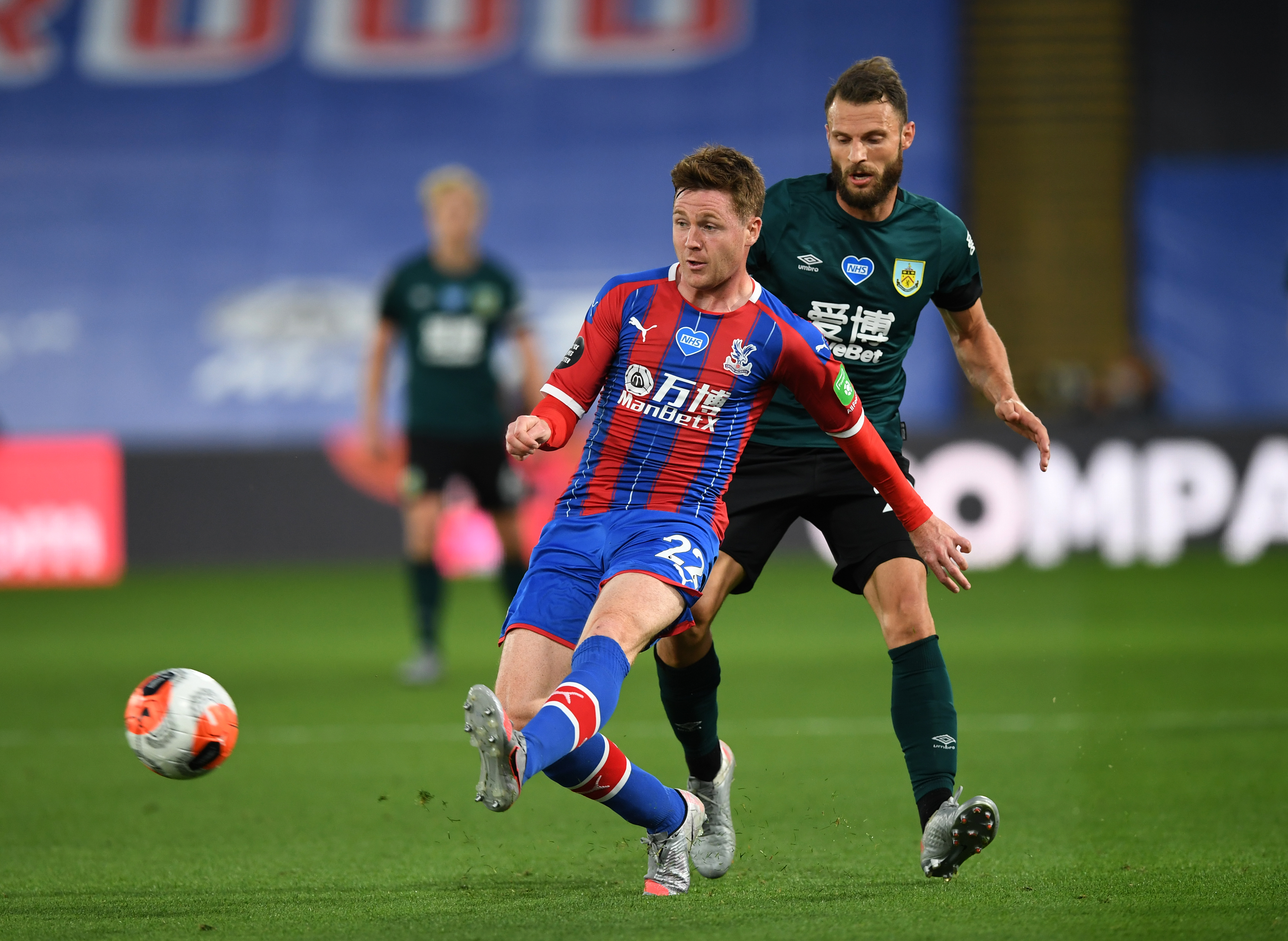 Celtic Are Interested In Crystal Palace's James McCarthy - McCarthy in action